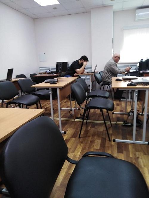 БКЕ Евразия КРС корпоративный учебный комбинат на занятиях