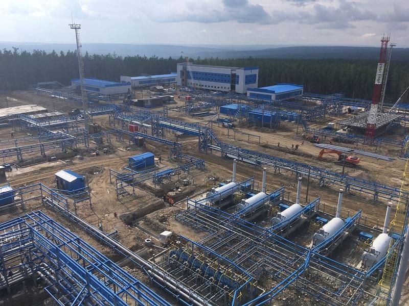 Строительство ПСП на Чаяндинском НГКМ