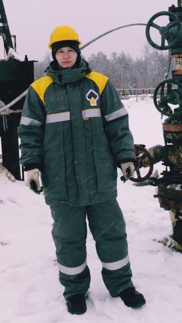 ВОСТСИБНЕФТЕГАЗ зимния спецодежда Роснефть