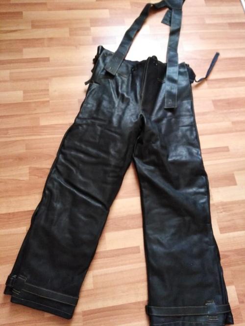зимние штаны сварщика на меху