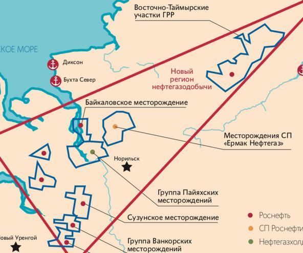 Проект восток Ойл вахта на Ямале