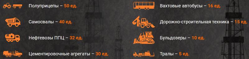 РуссИнтегралНефтеснаб автотранспорт